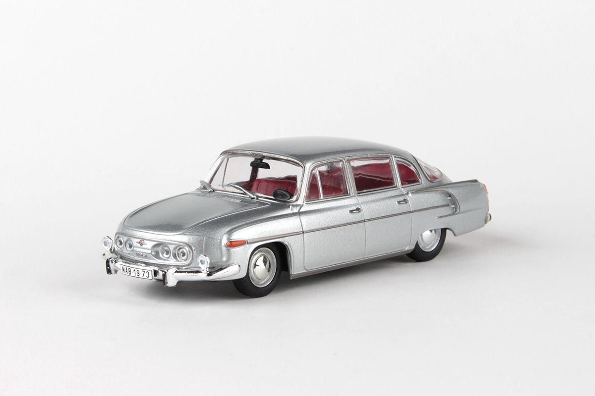 Tatra 603 (1969) 1:43 - Stříbrná Metalíza