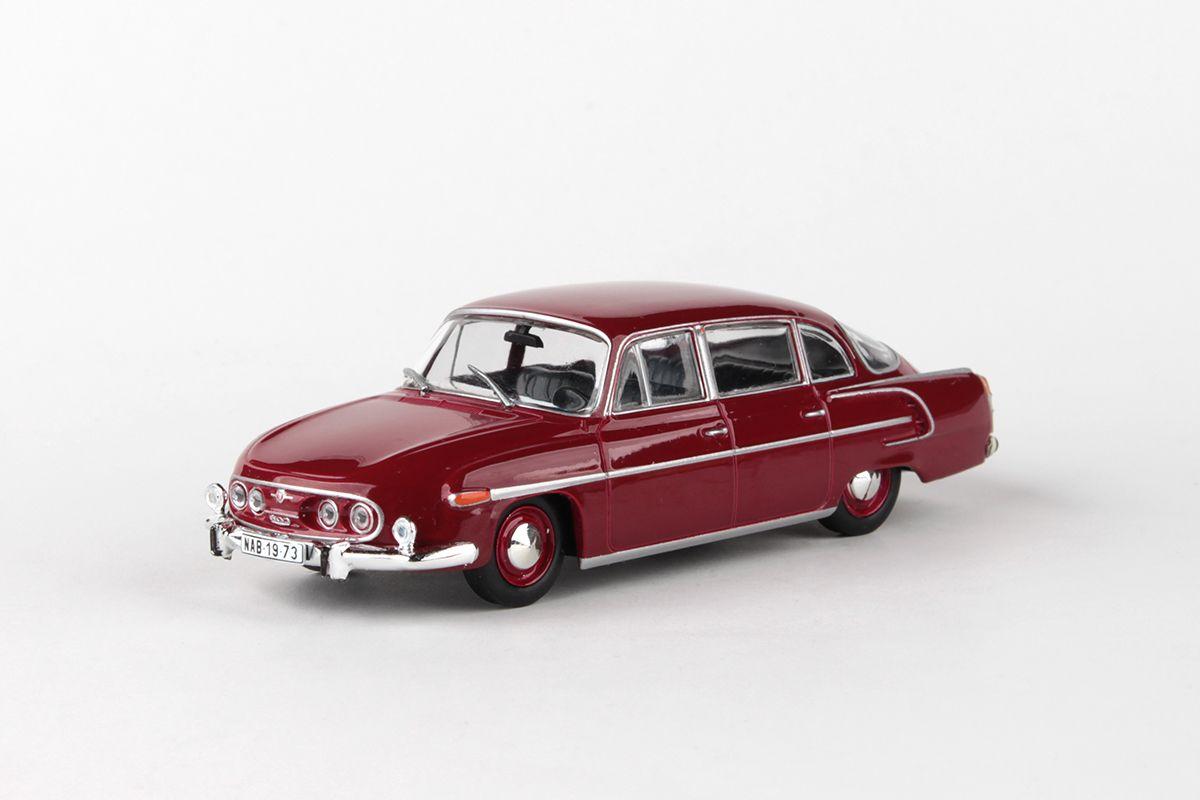 Tatra 603 (1969) 1:43 - Červená Tmavá