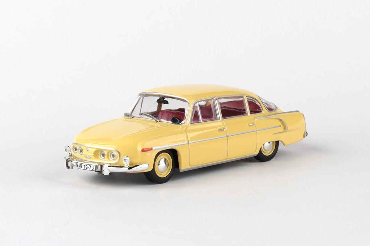 Tatra 603 (1969) 1:43 - Žlutá Světlá