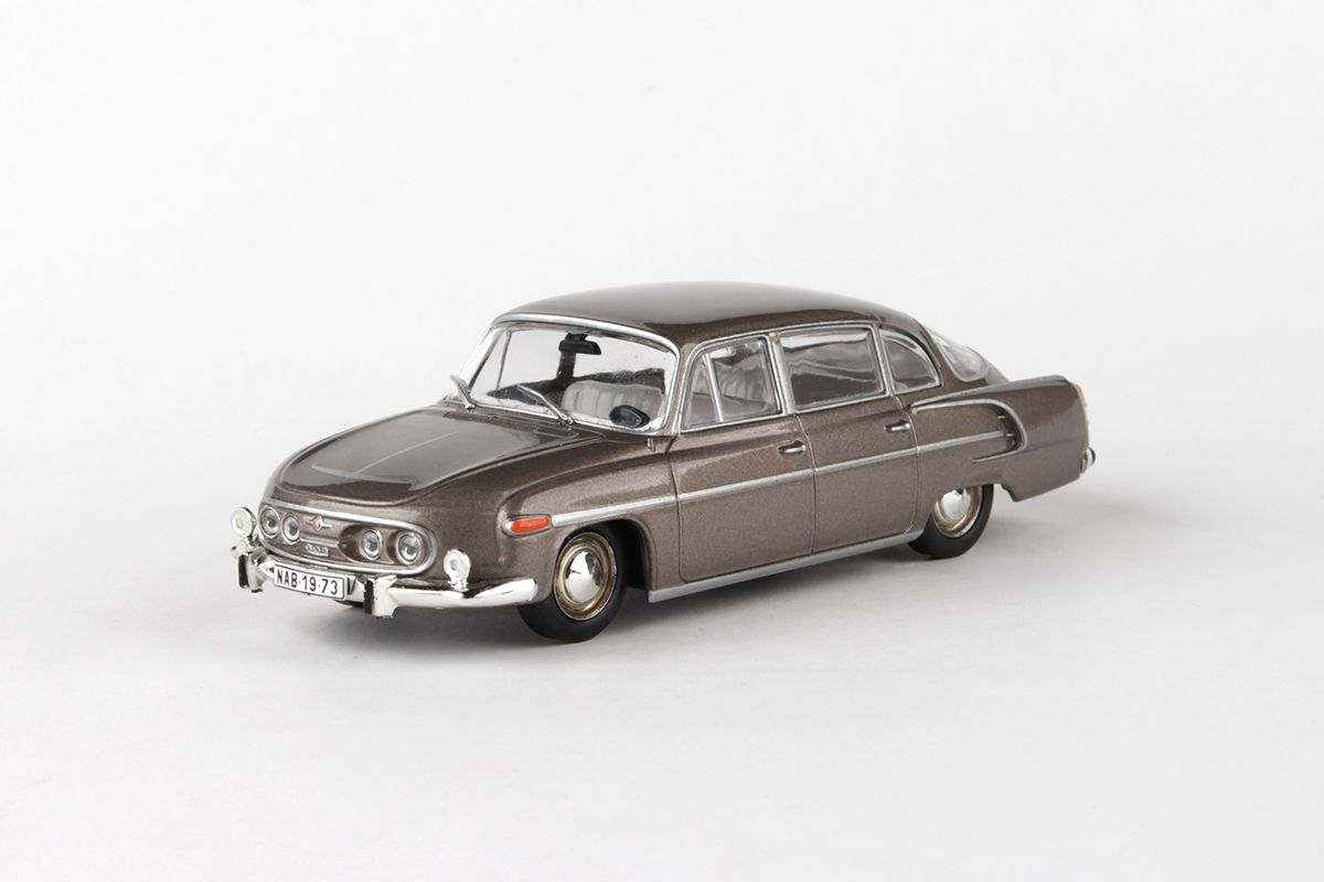 Kovový model Tatra 603 - Šedohnědá metalíza
