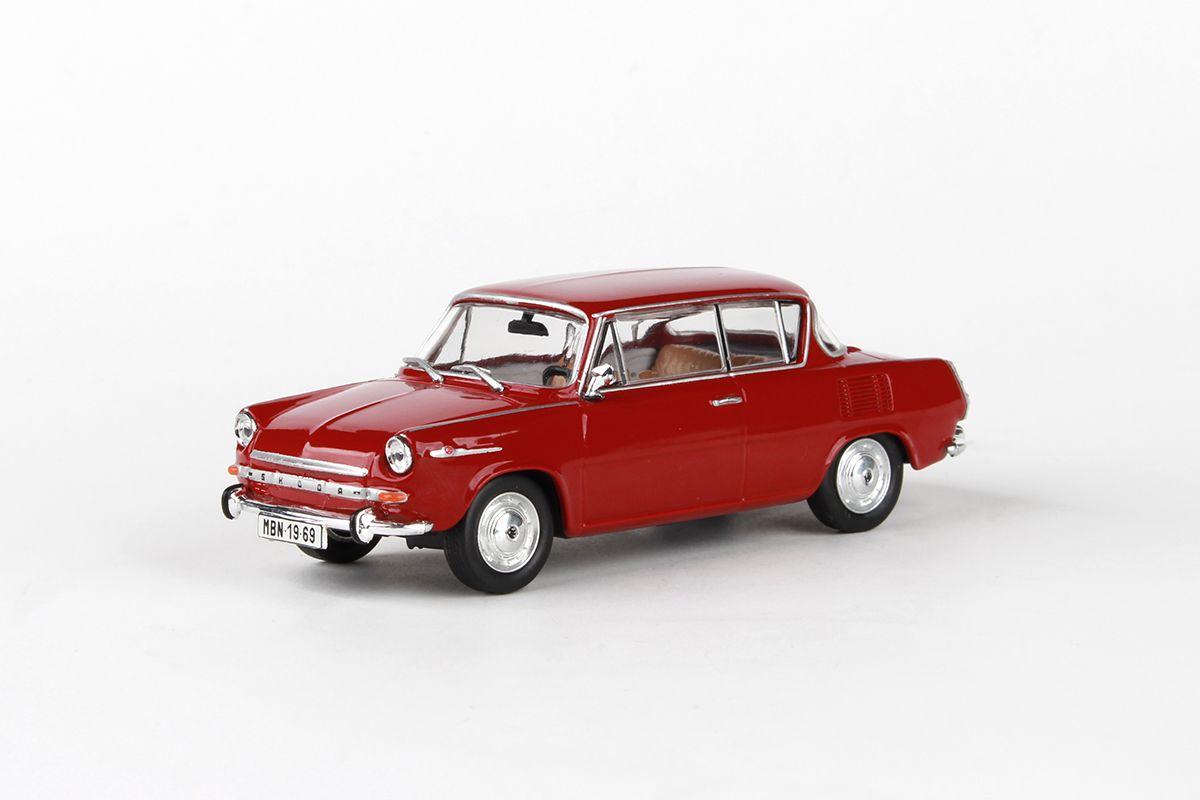 Škoda 1100MBX (1969) 1:43 - Červená Rubínová