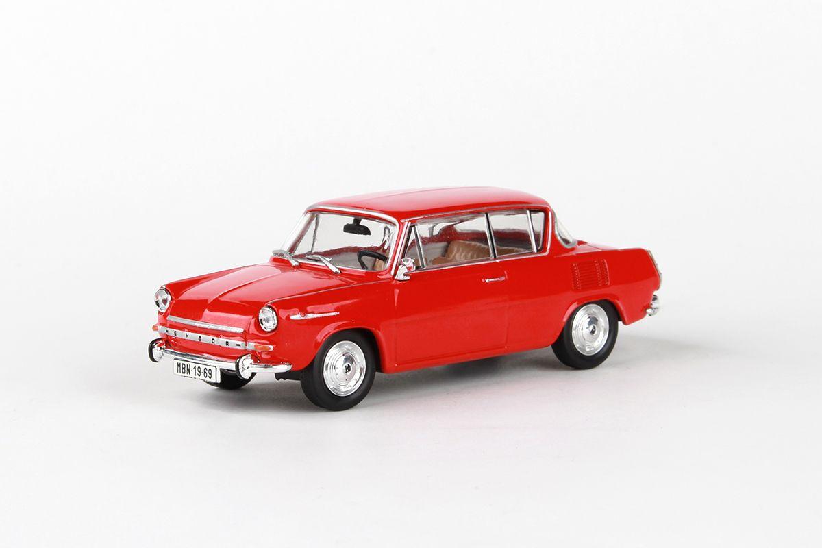 Škoda 1100MBX (1969) 1:43 - Červená Oranžová