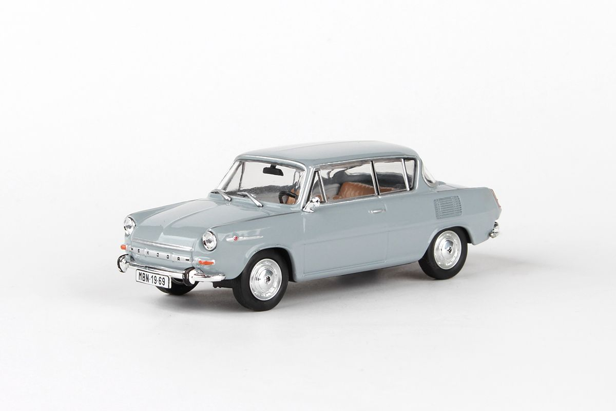Škoda 1100MBX (1969) 1:43 - Šedá Námořní