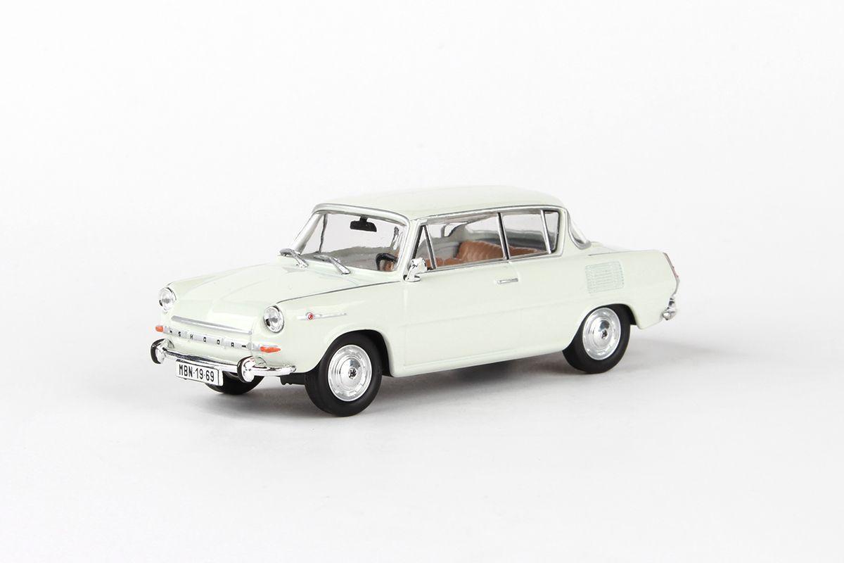 Škoda 1100MBX (1969) 1:43 - Šedá Levandulová