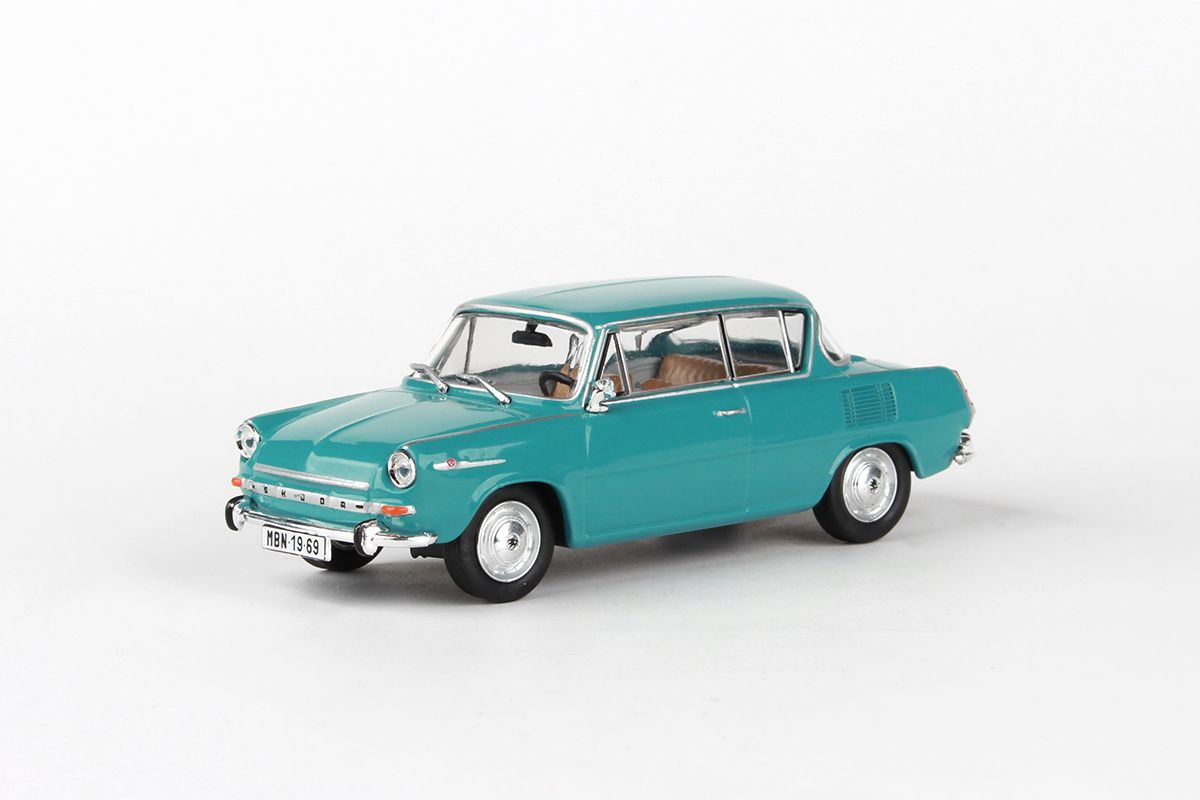 Škoda 1100MBX (1969) 1:43 - Tyrkysová Světlá