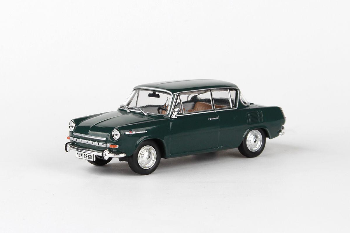 Škoda 1100MBX (1969) 1:43 - Zelená Tmavá