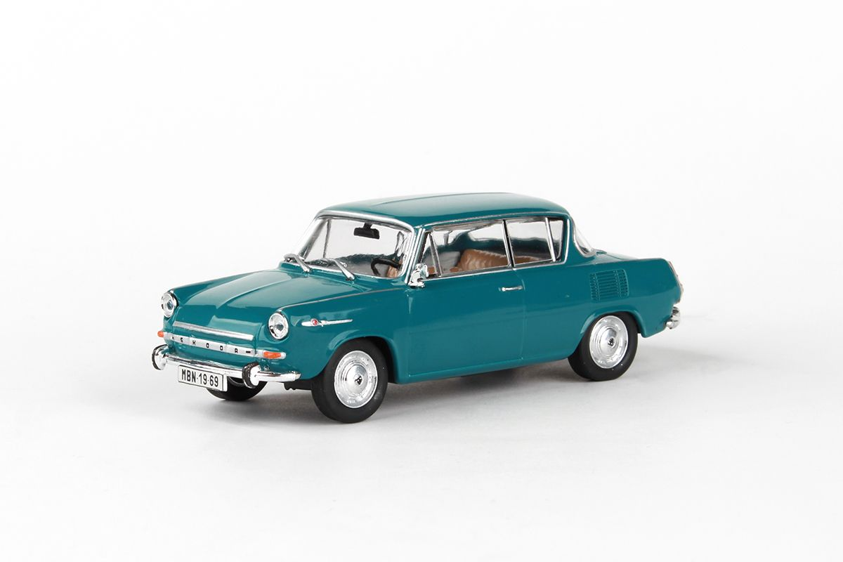 Škoda 1100MBX (1969) 1:43 - Modrozelená Tmavá
