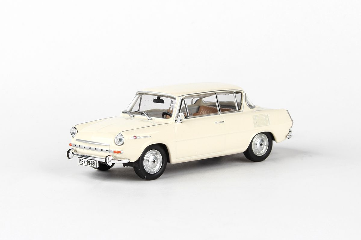 Škoda 1100MBX (1969) 1:43 - Slonová Kost