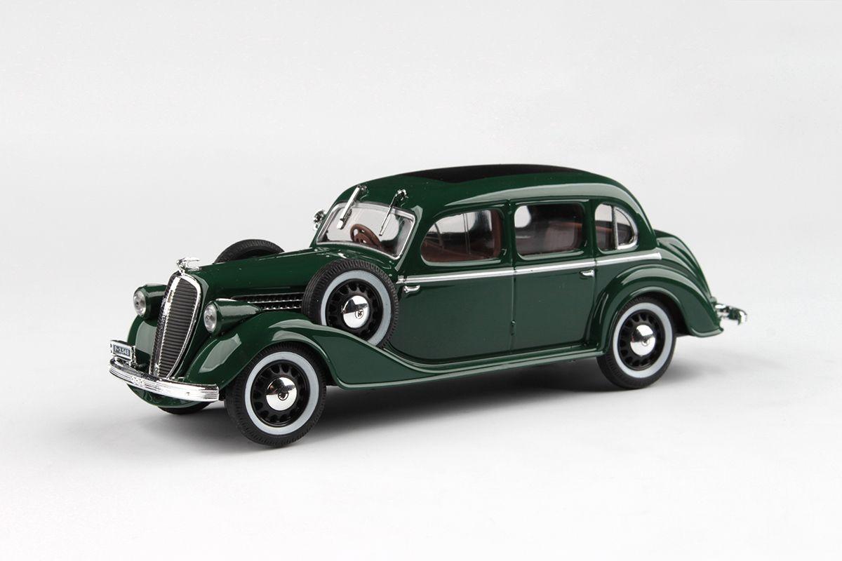 Škoda Superb 913 (1938) 1:43 - Zelená Mechová