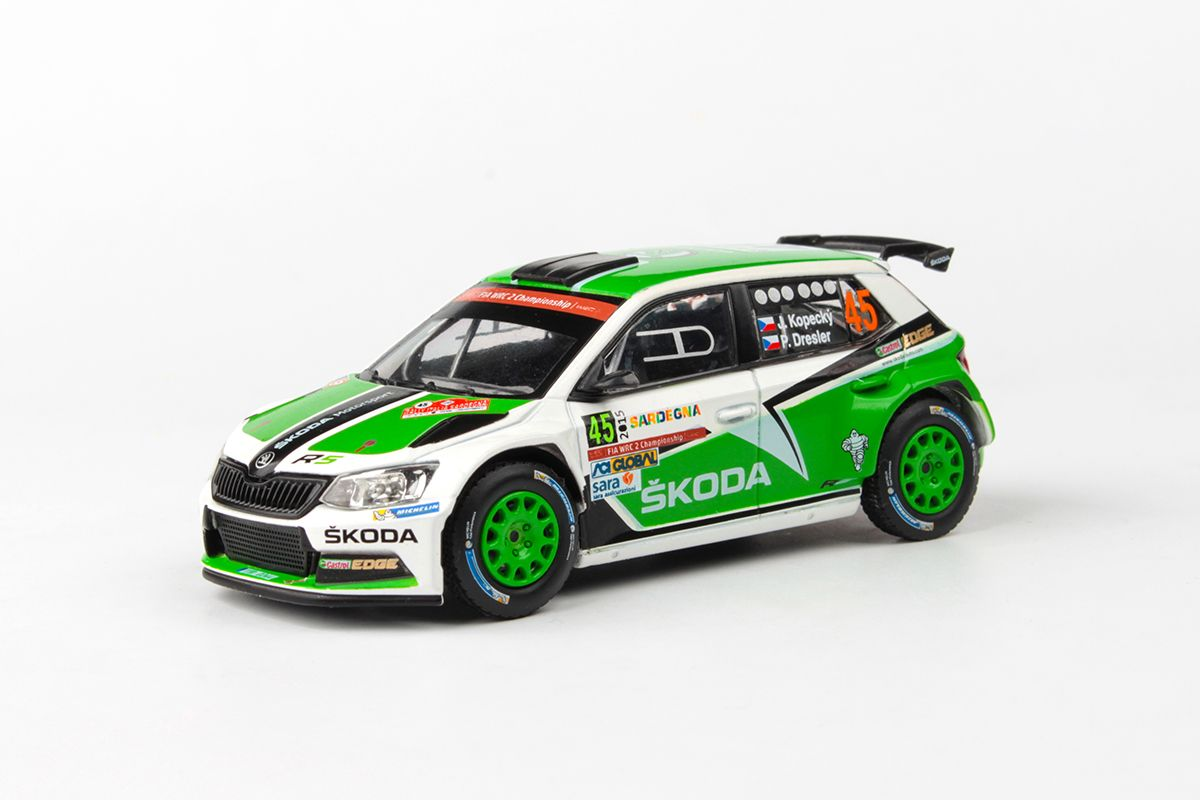 Škoda Fabia III R5 (2015) 1:43 - Rally Italia Sardegna 2015 #45 Kopecký - Dresler