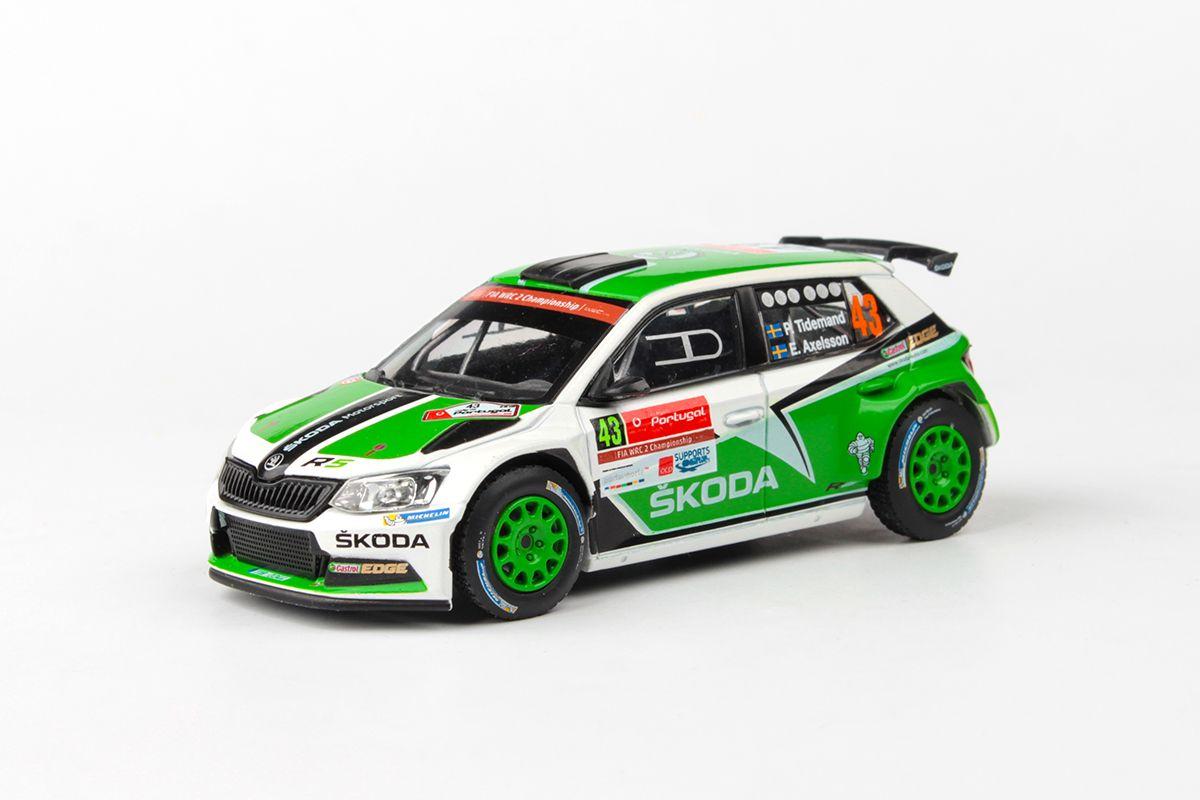 Škoda Fabia III R5 (2015) 1:43 - Vodafone Rally de Portugal 2015 #43 Tidemand - Axelsson