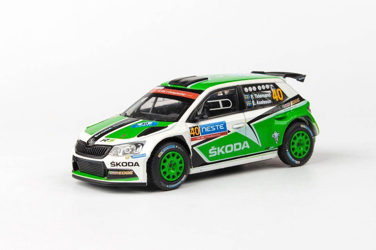 Škoda Fabia III R5 (2015) 1:43 - Neste Oil Rallye Finland 2015 #40 Tidemand - Axelsson