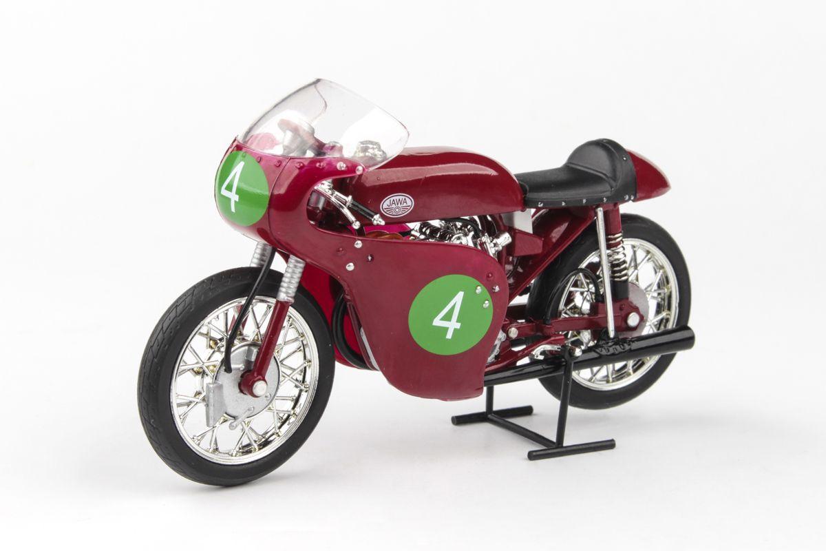 Jawa 250R 2xOHC (1961) 1:18 - Velká Cena Československa Brno 1961 #4 Havel