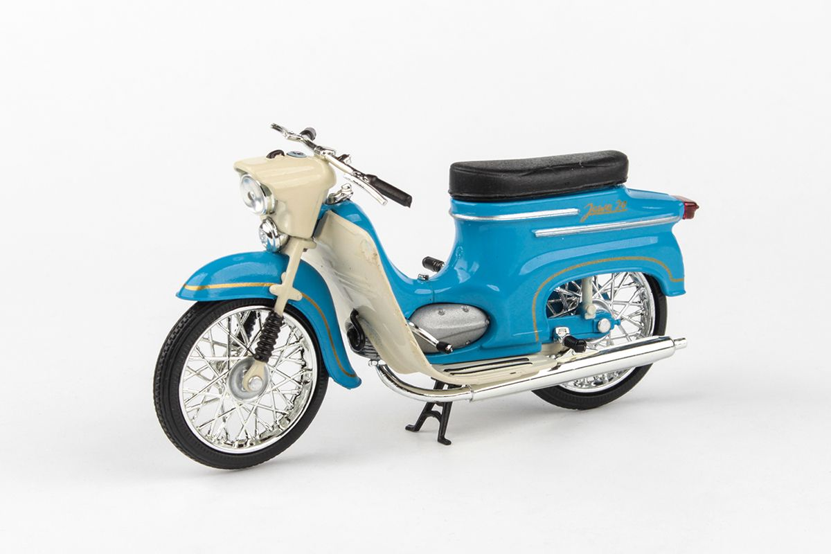 Jawa 50 Pionýr typ 20 (1967) 1:18 - Modrá