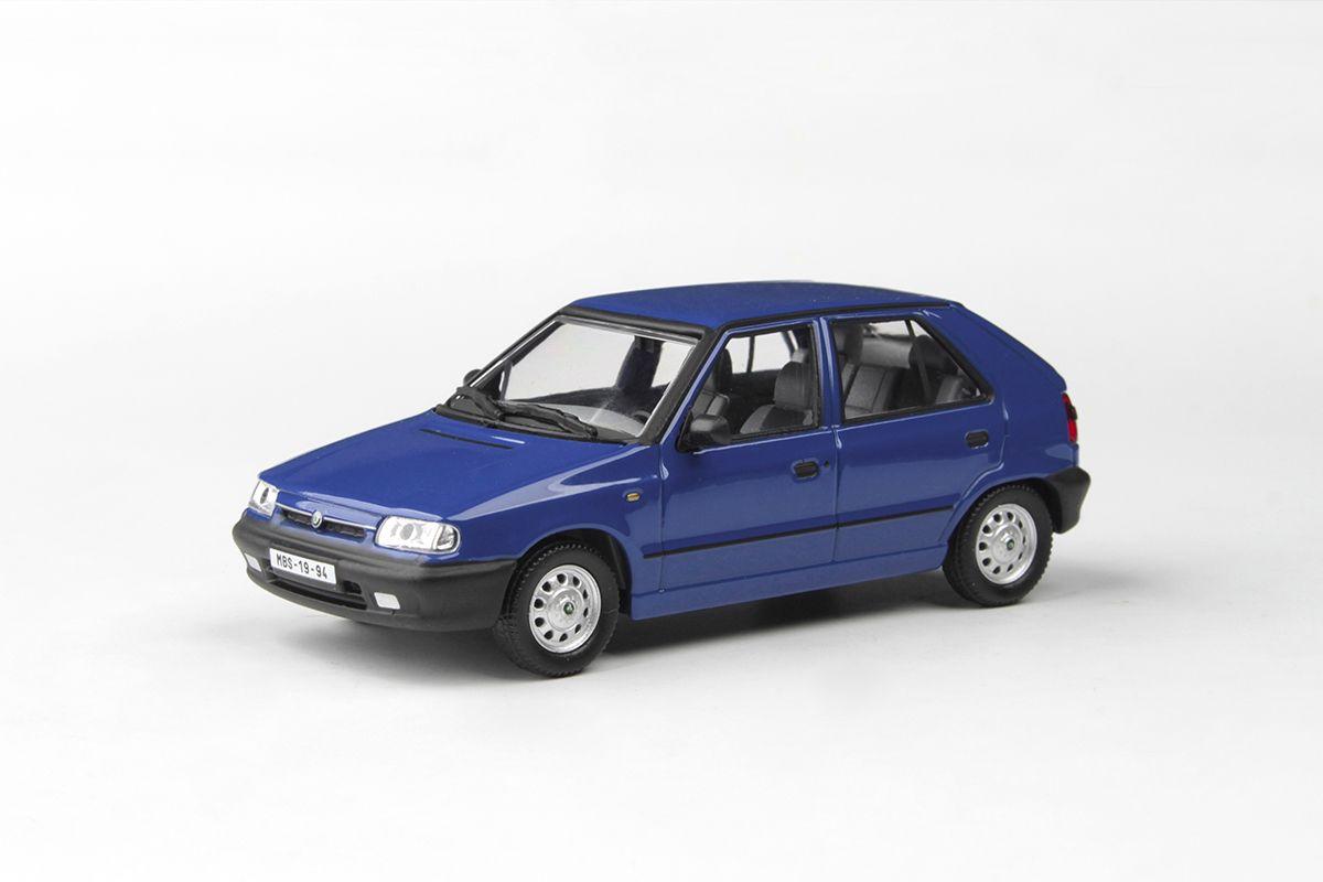 Škoda Felicia (1994) 1:43 - Modrá Arktická