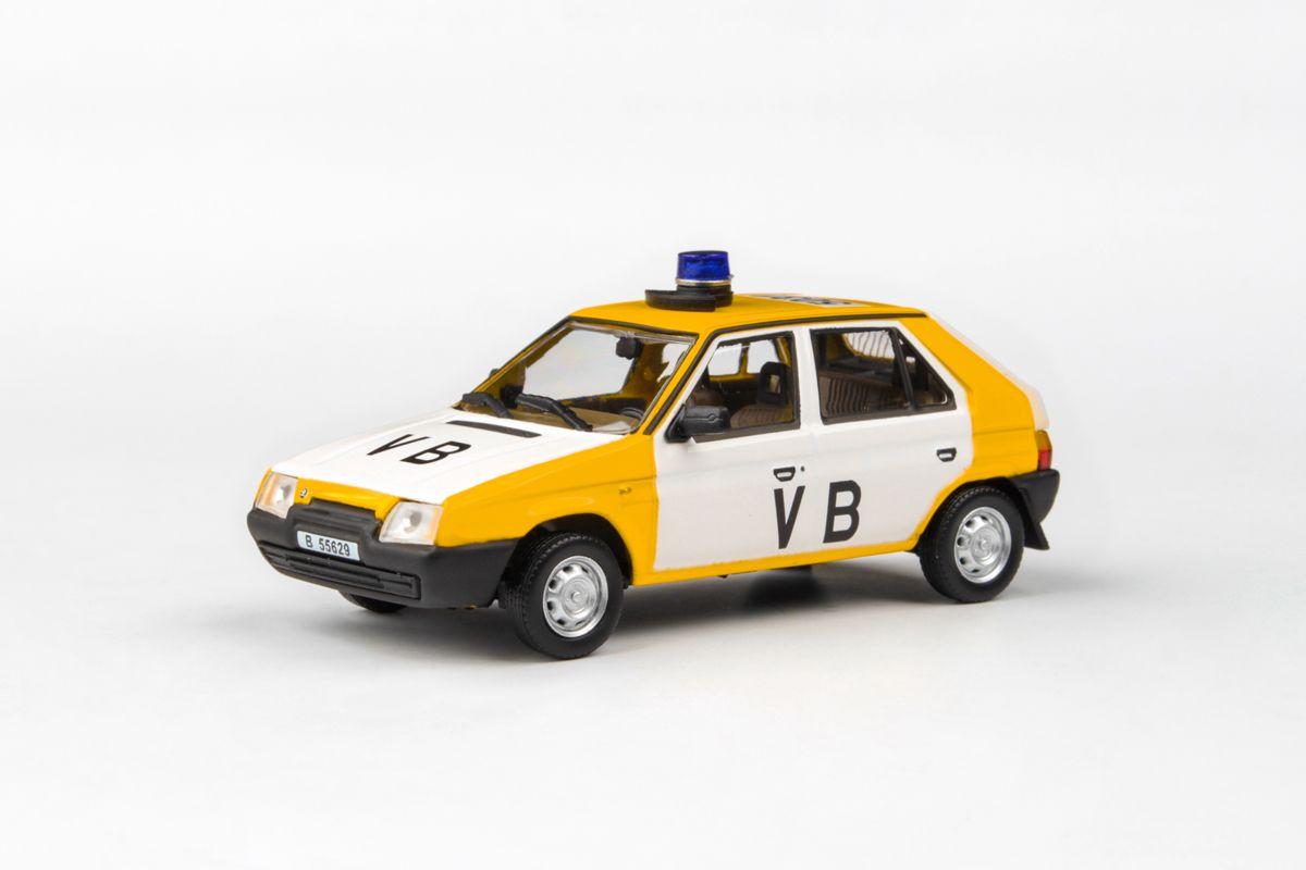 Škoda Favorit 136L (1988) 1:43 - Veřejná Bezpečnost