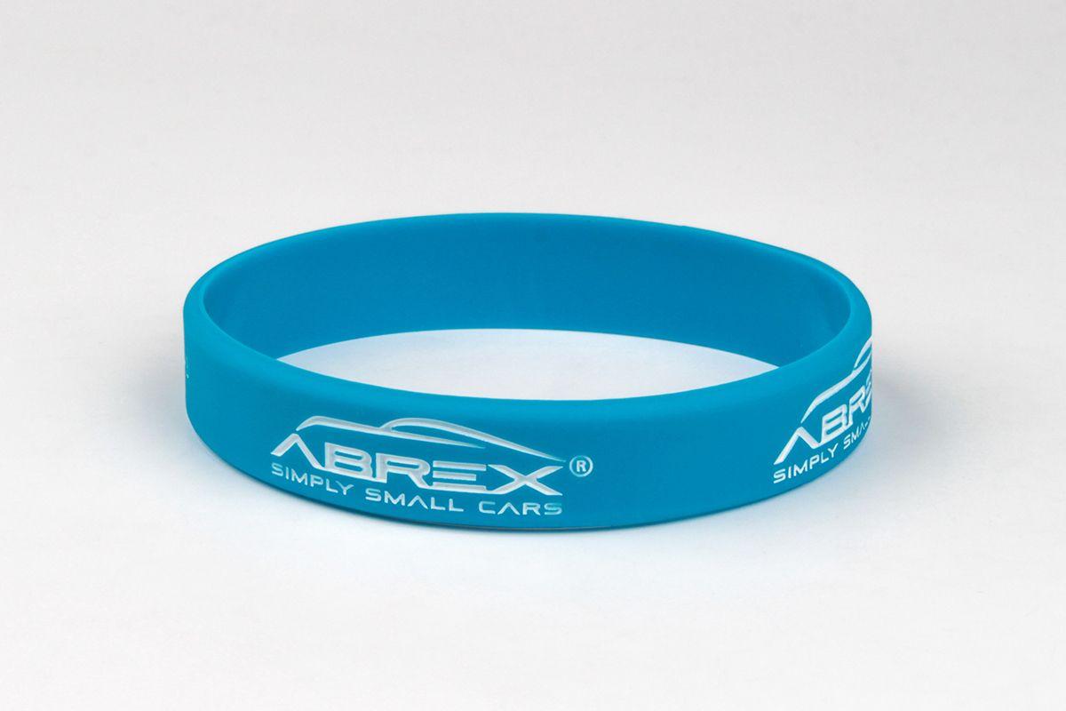 Silikonový náramek Abrex - modrý