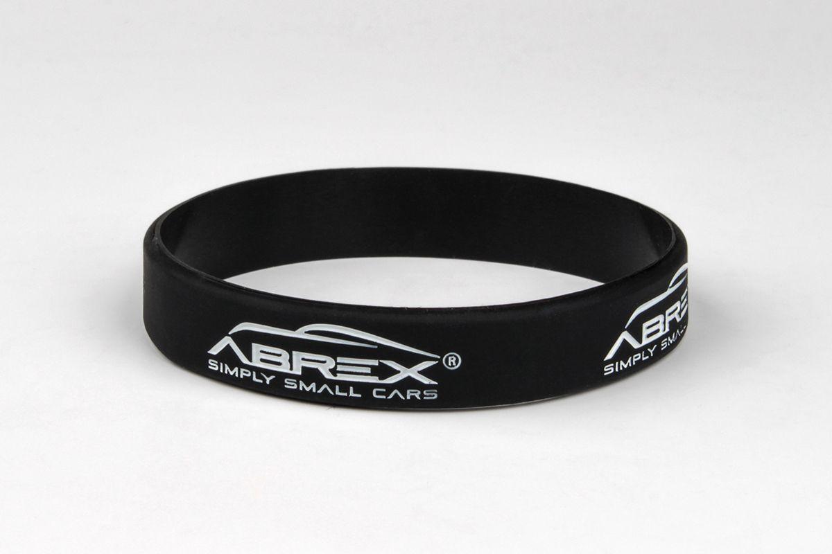 Silikonový náramek Abrex - černý