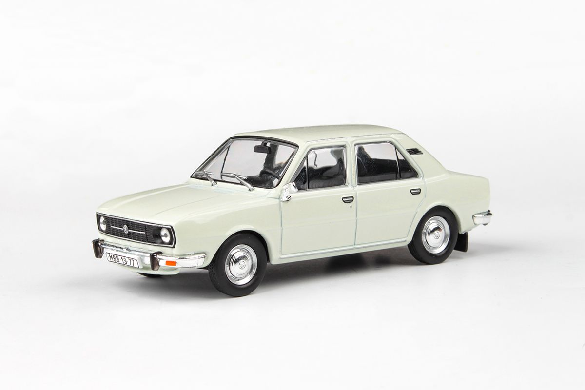 Škoda 105L (1977) 1:43 - Bílá Ledová