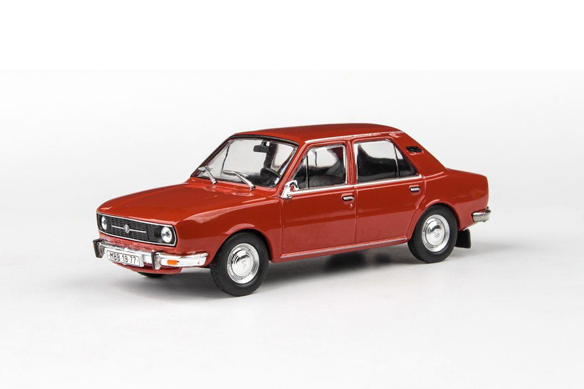Škoda 105L (1977) 1:43 - Červená Paprika