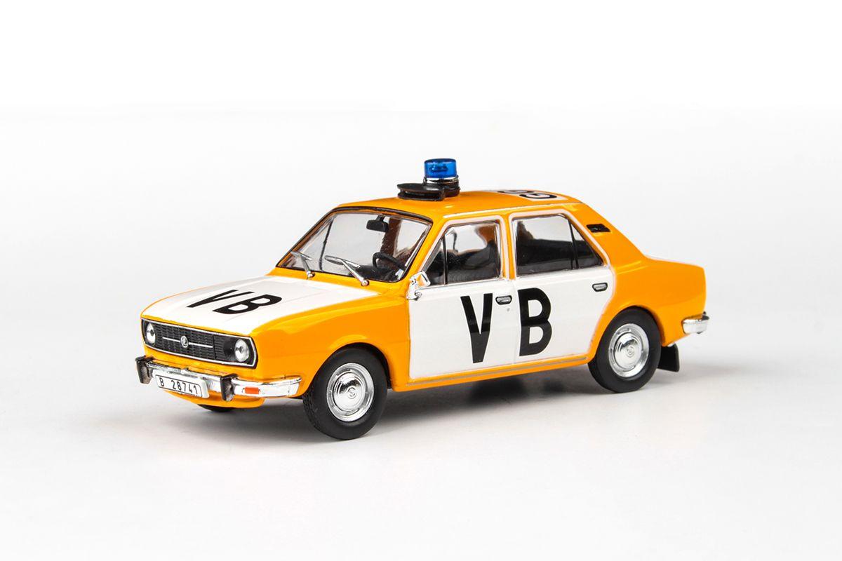 Škoda 105L (1977) 1:43 - Veřejná Bezpečnost