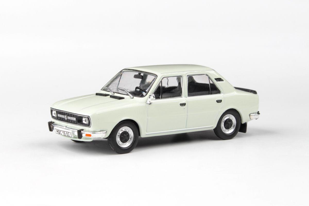 Škoda 120L (1982) 1:43 - Bílá Ledová