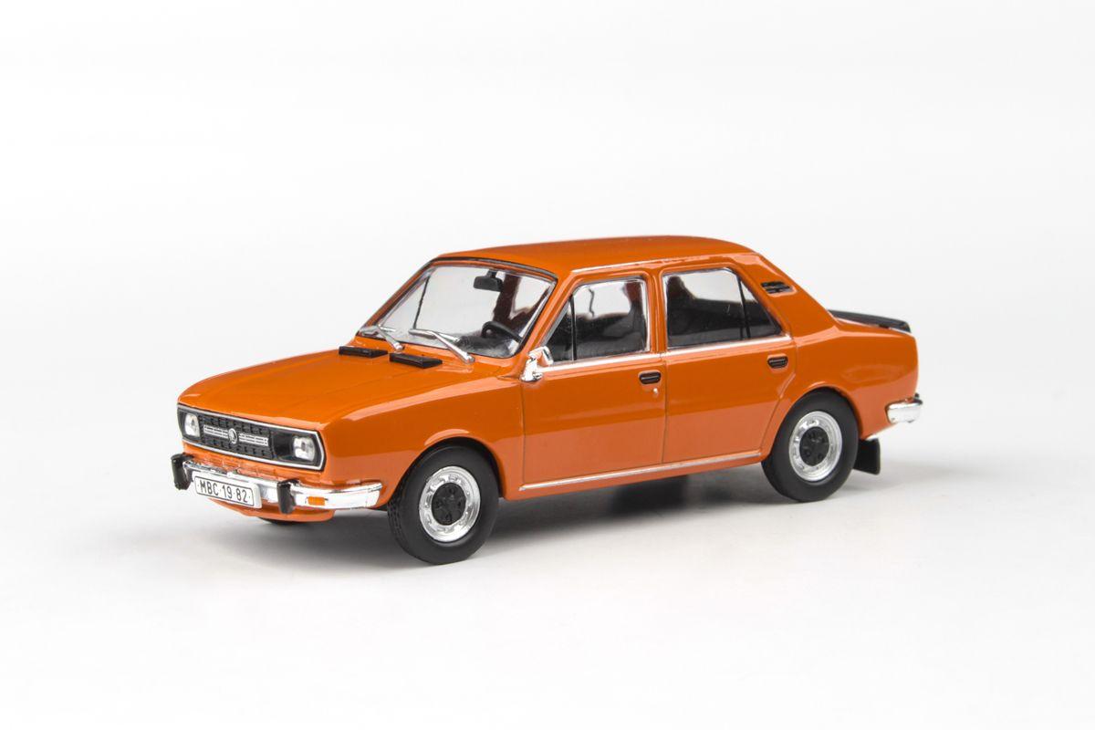 Škoda 120L (1982) 1:43 - Oranžová Brilantní