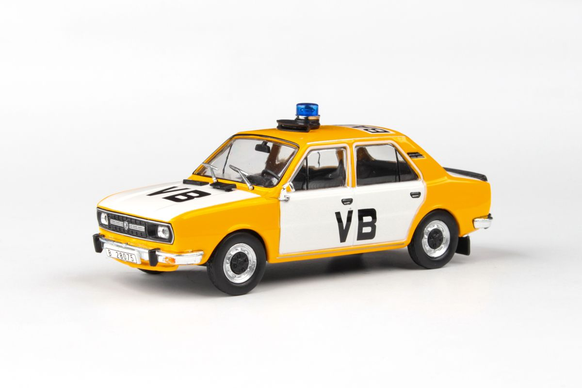 Škoda 120L (1982) 1:43 - Veřejná Bezpečnost