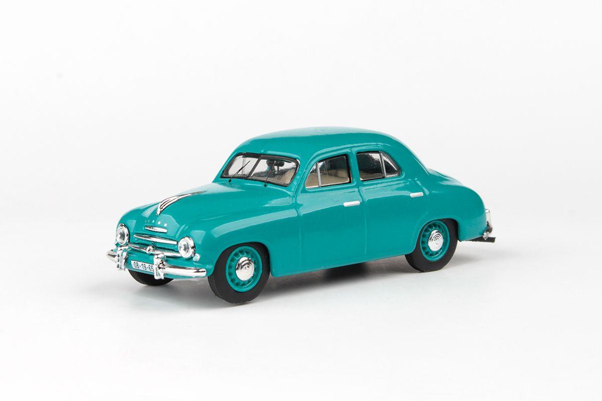 Škoda 1201 (1956) 1:43 - Tyrkysová Střední