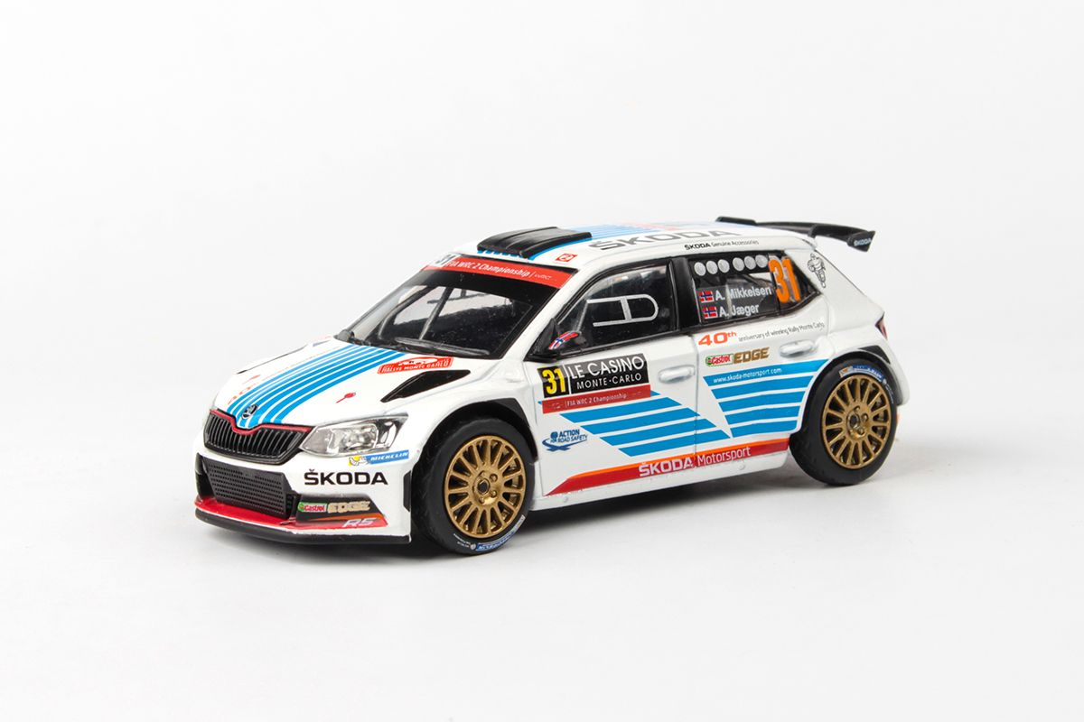 Škoda Fabia III R5 (2015) 1:43 - Rallye Monte-Carlo 2017 #31 Mikkelsen - Jager