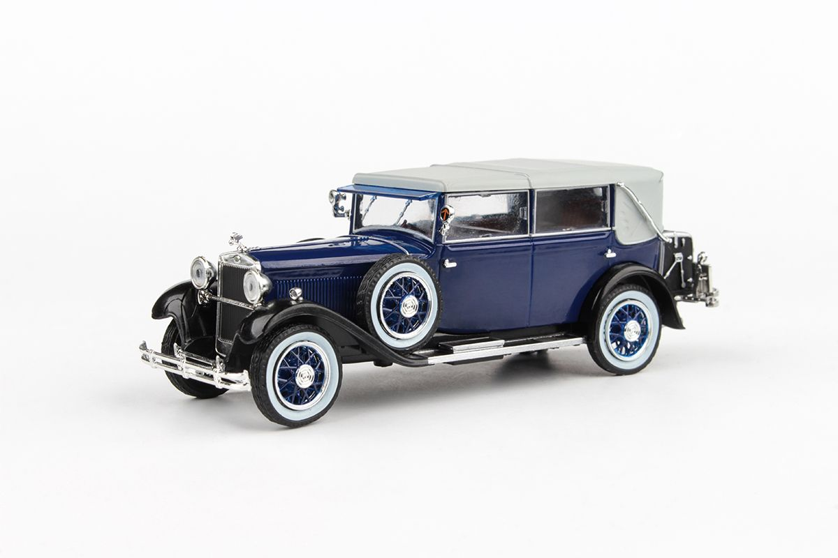 Škoda 860 (1932) 1:43 - Modrá