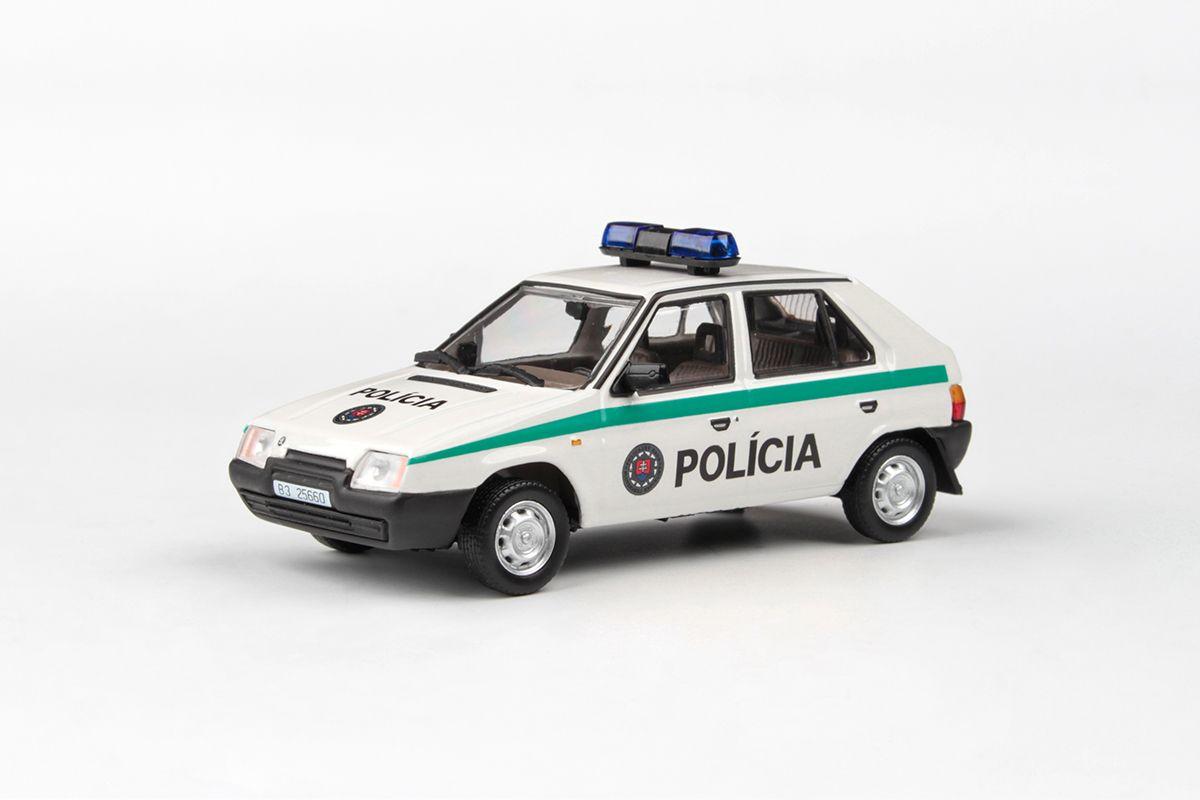 Škoda Favorit 136L (1988) 1:43 - Polícia SR