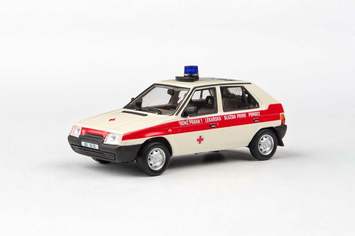 Škoda Favorit 136L (1988) 1:43 - OÚNZ Praha 1
