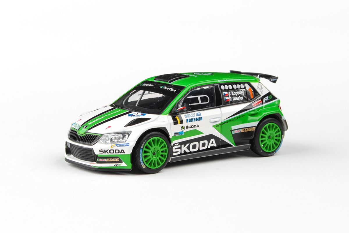 Škoda Fabia III R5 (2015) 1:43 - Rally Bohemia 2017 #1 Kopecký - Dresler