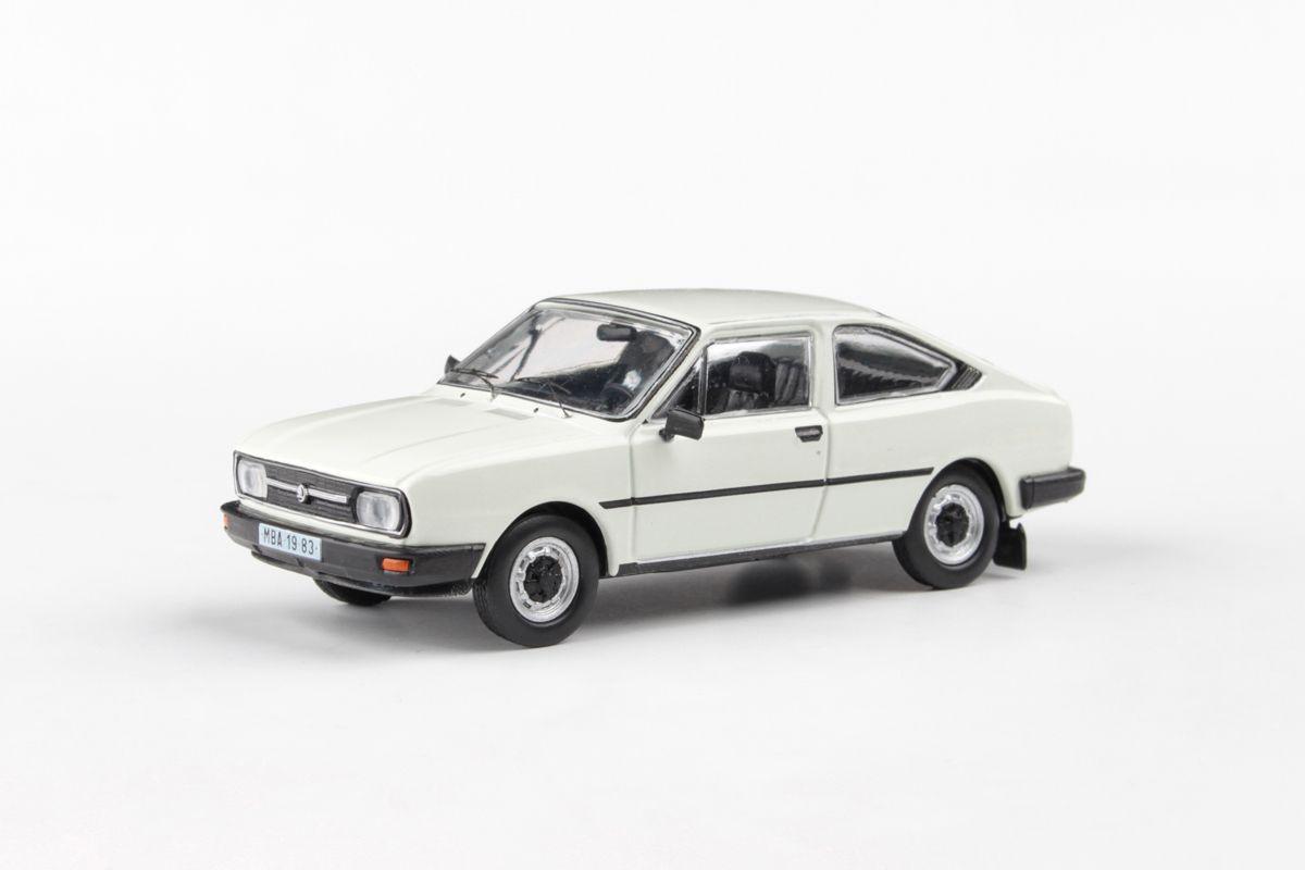 Škoda Garde (1982) 1:43 - Bílá Ledová