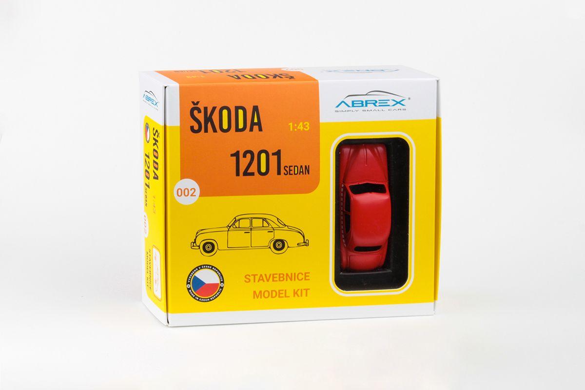 Škoda 1201 (1956) 1:43 - Taxi - Stavebnice