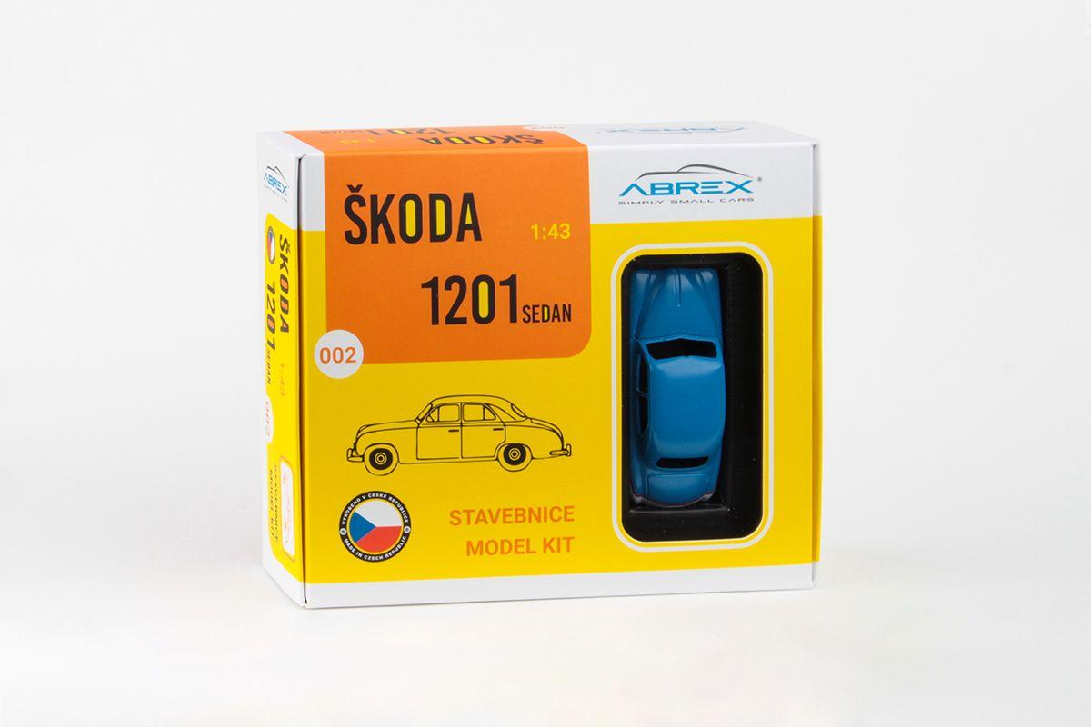 Škoda 1201 (1956) 1:43 - Hlídka VB - Stavebnice