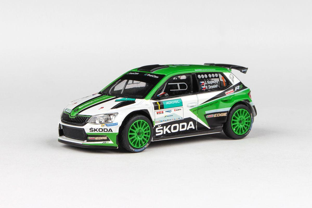 Škoda Fabia III R5 (2015) 1:43 - Agrotec Petronas Syntium Rally Hustopeče 2017 #1 Kopecký - Dresler