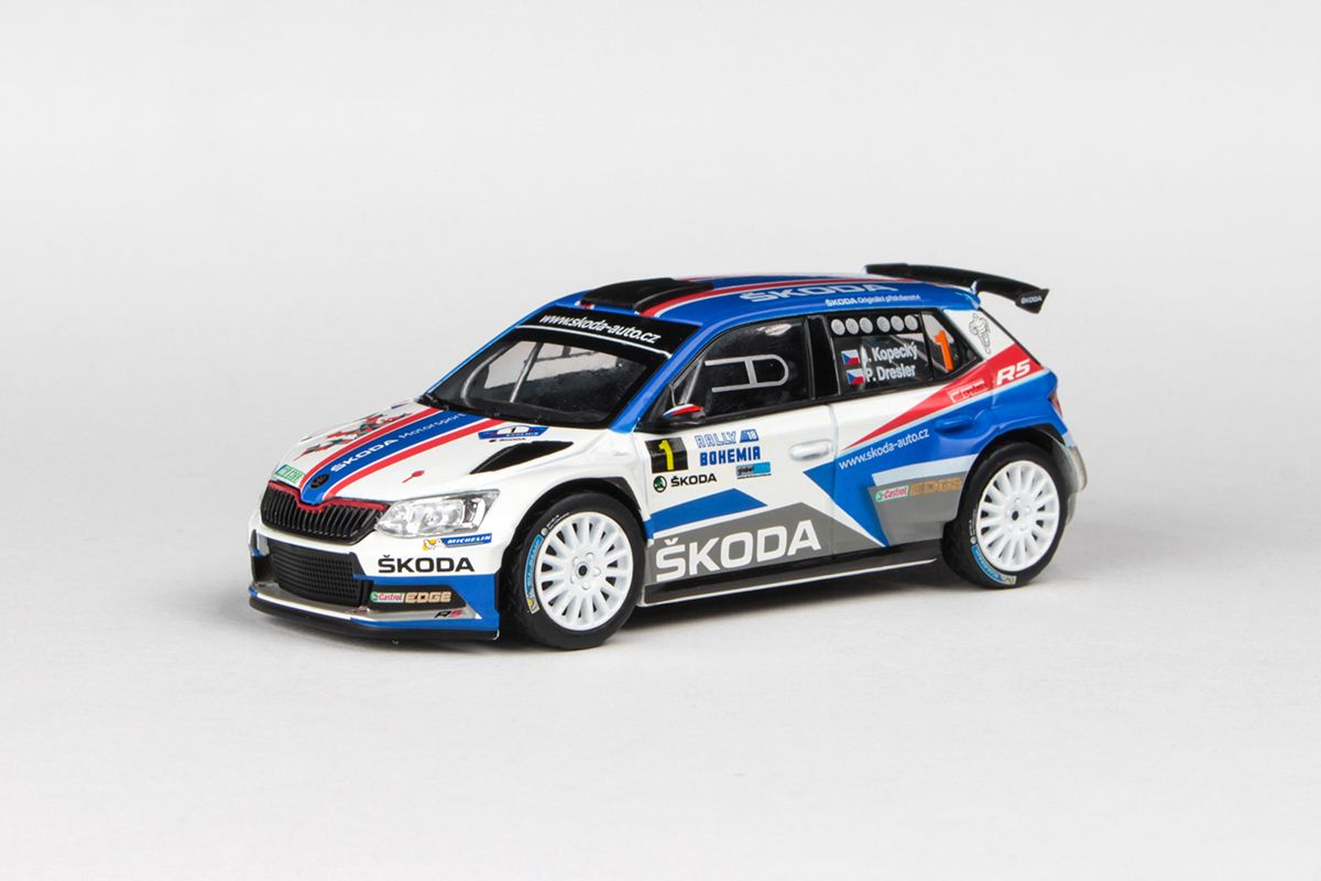 Škoda Fabia III R5 (2015) 1:43 - Rally Bohemia 2018 #1 Kopecký - Dresler