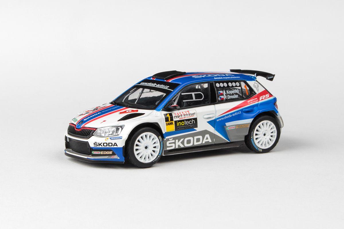 Škoda Fabia III R5 (2015) 1:43 - Rallye Český Krumlov 2018 #1 Kopecký - Dresler