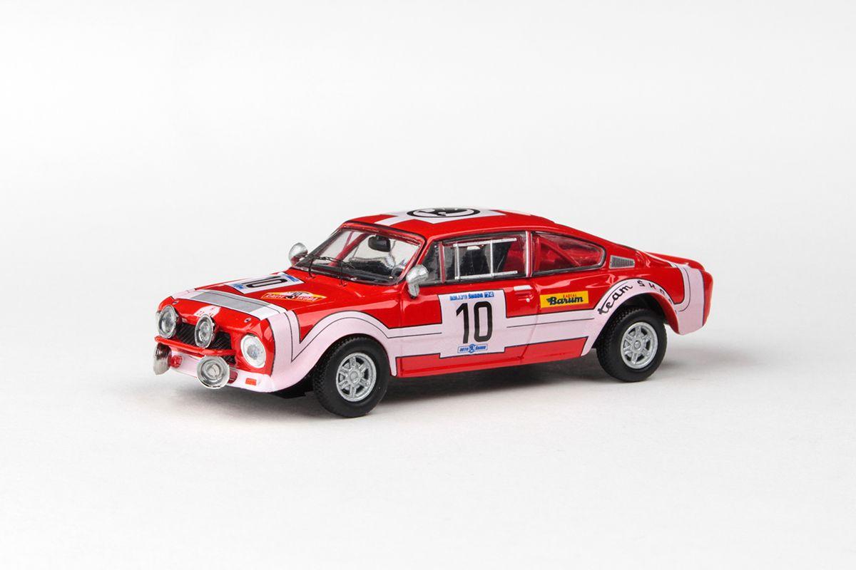 Škoda 200RS (1974) 1:43 - Rallye Škoda 1974 #10 Šedivý - Janeček