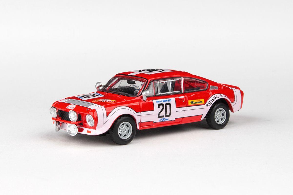 Škoda 200RS (1974) 1:43 - Rallye Škoda 1974 #20 Horsák - Motal
