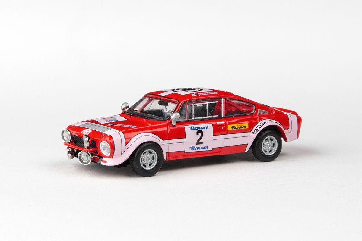 Škoda 200RS (1974) 1:43 - Barum Rallye 1974 #2 Horsák - Motal