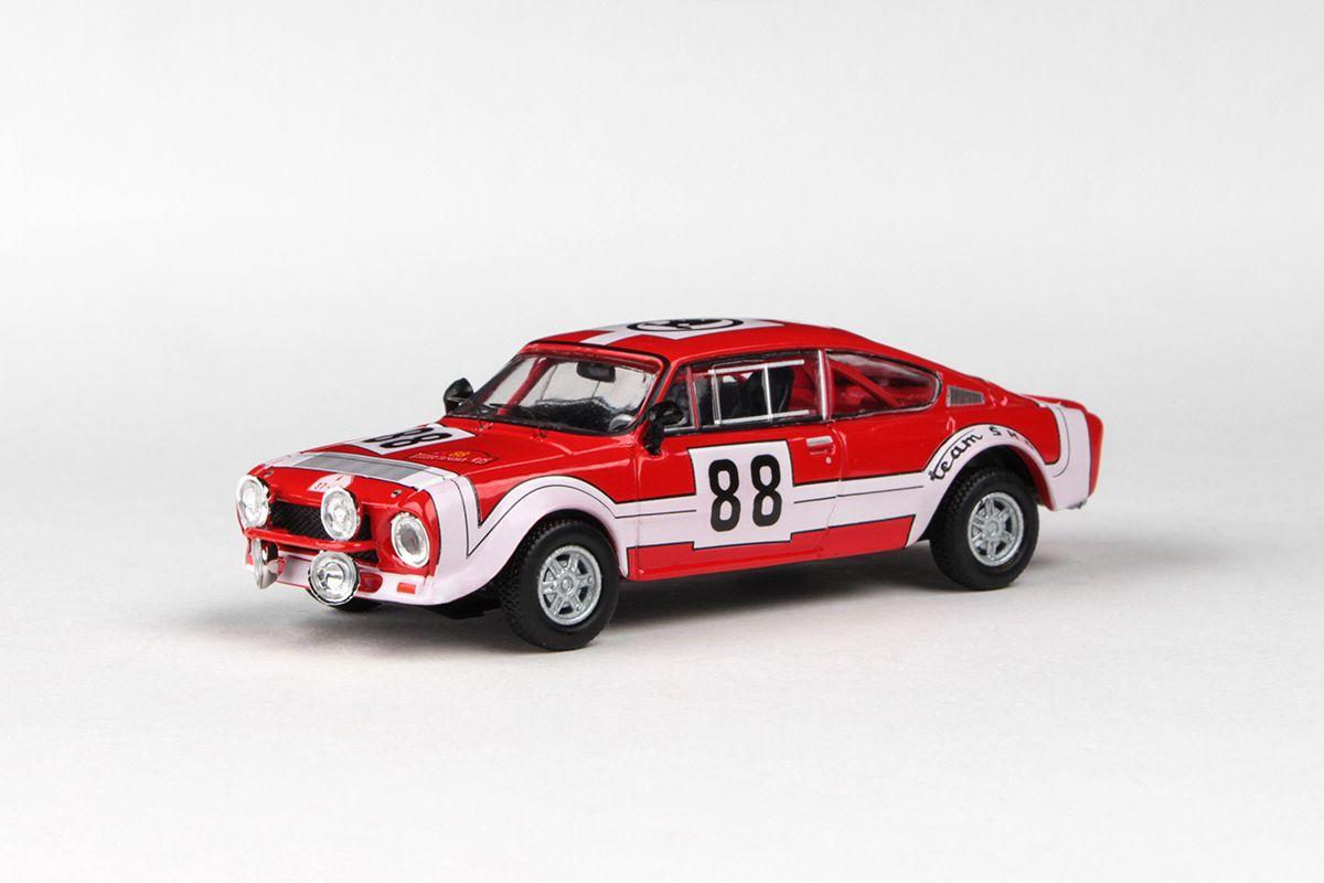 Škoda 200RS (1974) 1:43 - Rallye Šumava 1975 #88 Horsák - Motal