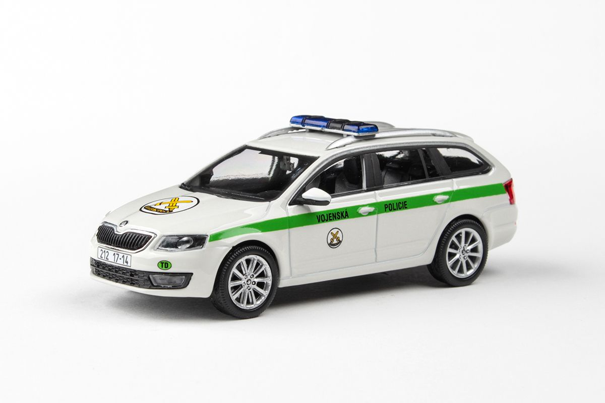 Škoda Octavia III Combi (2013) 1:43 - Vojenská Policie
