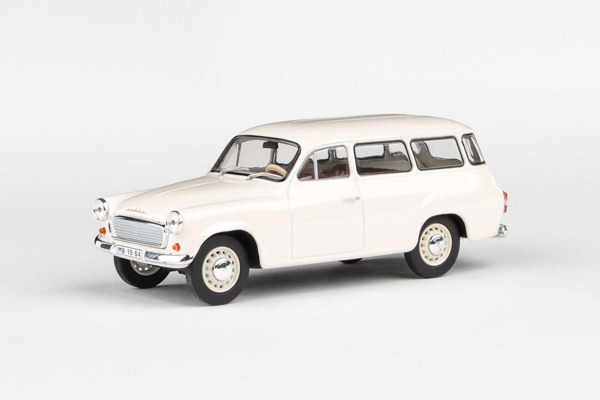 Škoda 1202 (1964) 1:43 - Bílá
