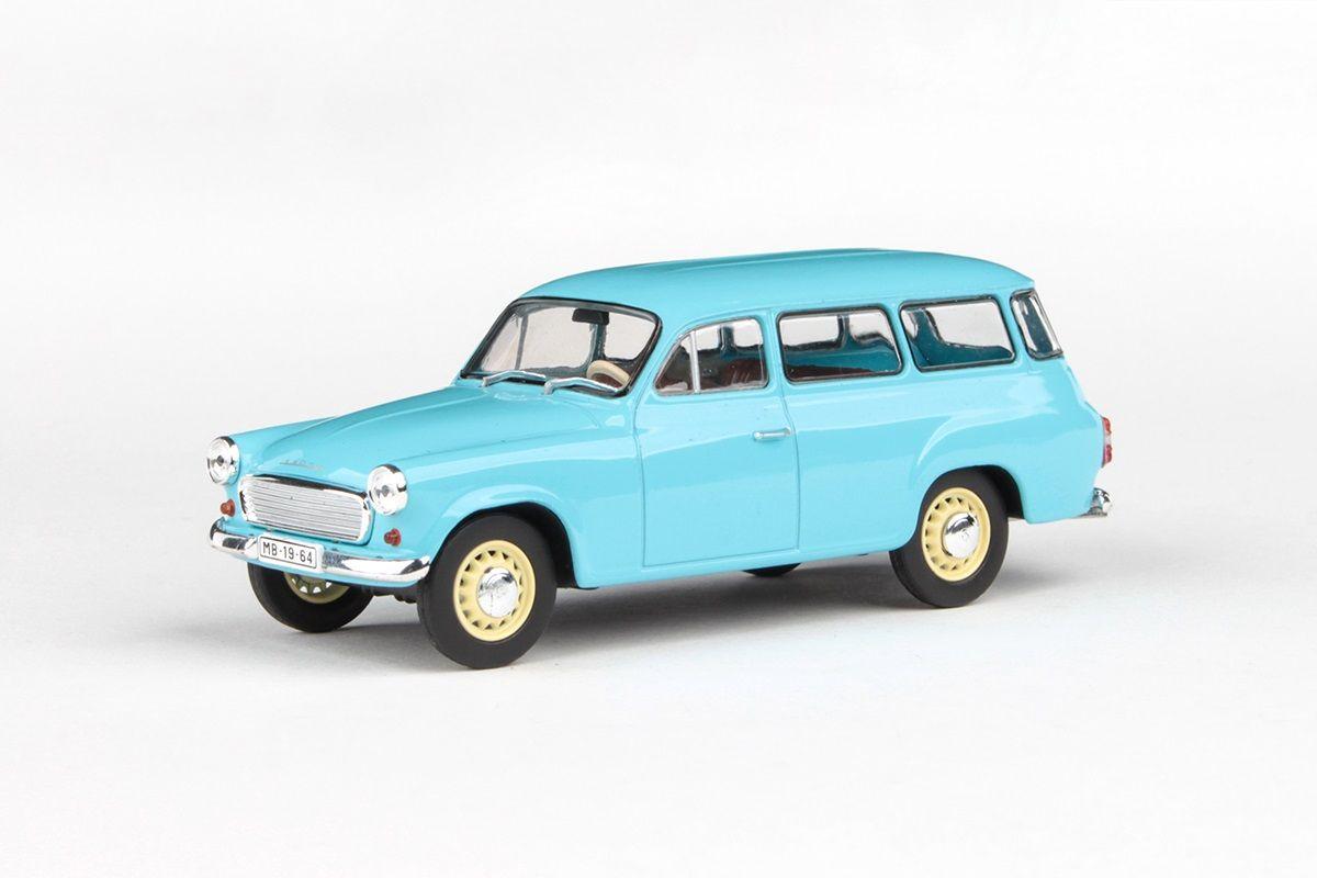 Škoda 1202 (1964) 1:43 - Modrá Světlá