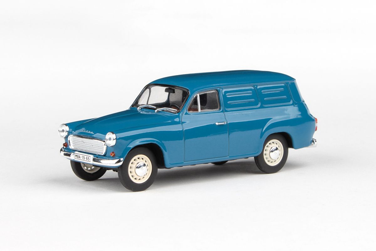 Škoda 1202 Dodávka (1965) 1:43 - Šedomodrá