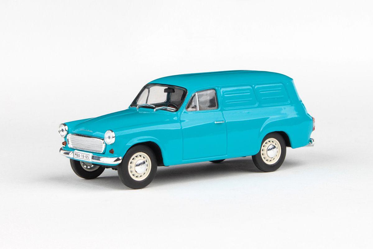 Škoda 1202 Dodávka (1965) 1:43 - Tyrkys
