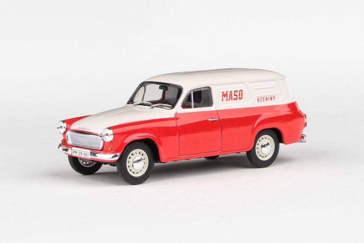 Škoda 1202 Dodávka (1965) 1:43 - Maso Uzeniny
